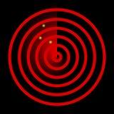 радиолокатор иллюстрация штока