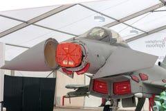 Радиолокатор E-развертки AESA похитителя-E на тайфуне Eurofighter стоковое фото
