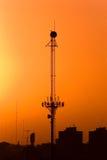радиосвязи антенны Стоковые Фотографии RF