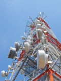 радиосвязь антенны Стоковая Фотография