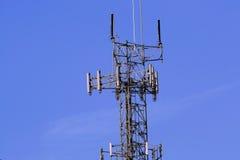радиотелеграф башни реле стоковое фото