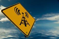 радиотелеграф знака Стоковая Фотография RF