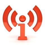 радиотелеграф иконы Стоковая Фотография RF