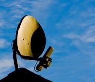 радиотелеграф интернета тарелки Стоковое Изображение RF