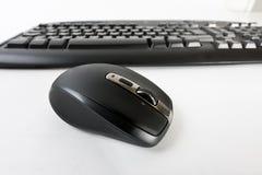 радиотелеграф мыши компьютера Стоковые Изображения