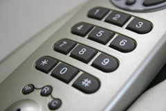 радиотелеграф телефона пусковой площадки номера Стоковое Изображение RF