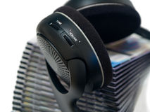 радиотелеграф headphones2 Стоковые Фото