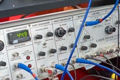 радиотехническая аппаратура пульта стоковые фото