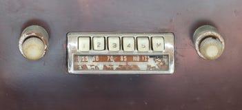 радио автомобиля старое Стоковые Фотографии RF