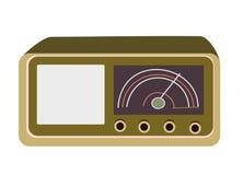 радио дней старое иллюстрация штока