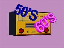 радио дней bubblegum Стоковая Фотография