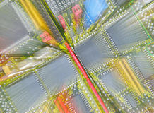 радио компонентов Стоковая Фотография