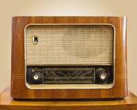 радио ретро Стоковое фото RF