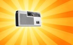 радио ретро стоковые изображения