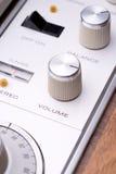 радио шкалы Стоковое Изображение RF