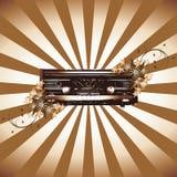 радио grunge Стоковые Изображения