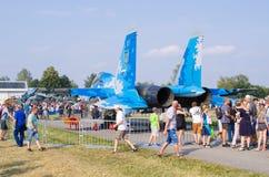 Радом Airshow, Польша стоковое изображение rf