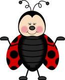 радостный ladybug Стоковое Фото