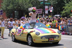 радуга автомобиля Стоковое Фото