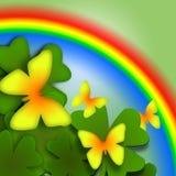 радуга бабочек Стоковое Фото