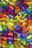 радуга гирлянды стоковые фотографии rf