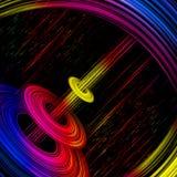 радуга дисков Стоковое Изображение