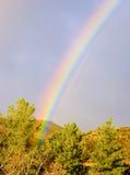 радуга конца Стоковое Изображение RF