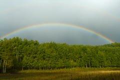 радуга ландшафта colorado Стоковые Фотографии RF