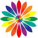 радуга мандала Стоковое Изображение RF