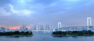 радуга моста Стоковые Изображения RF