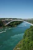 радуга моста Стоковые Изображения