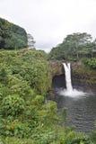 Радуга падает Гаваи стоковые изображения