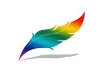 радуга пера Стоковая Фотография RF