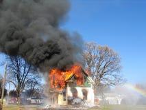 радуга пожара Стоковые Изображения