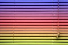 радуга предпосылки слепая Стоковые Фотографии RF