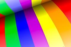 радуга предпосылки Стоковое Изображение RF