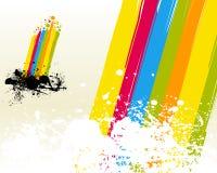 радуга принципиальной схемы Стоковое Фото