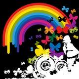 радуга стороны Стоковое Изображение RF