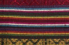 радуга ткани детали Стоковое Изображение