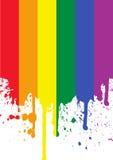 радуга флага иллюстрация штока