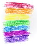 радуга чертежа Стоковые Изображения RF