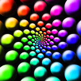 радуга шариков Стоковые Изображения RF