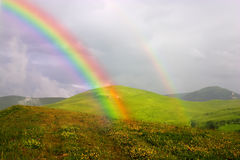 радуга стоковое изображение rf