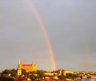 радуга Стоковая Фотография