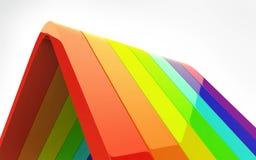 радуга 3d Стоковые Изображения RF