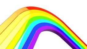 радуга 3d Стоковые Фото