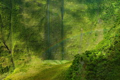 радуга napali kauai свободного полета Стоковые Изображения