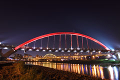 радуга taiwan моста Стоковое фото RF