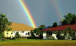 радуги заштатные Стоковое Изображение
