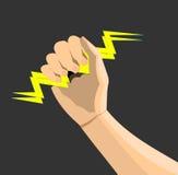 разбалластование руки Иллюстрация вектора